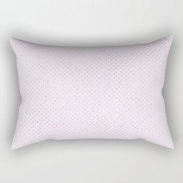 Elegant amethyst lavender silver glitter geometrical Rectangular Pillow