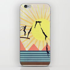 SUMMER POOL iPhone & iPod Skin