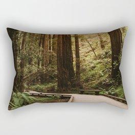 Muir Woods | California Redwoods Forest Nature Travel Photography Rectangular Pillow