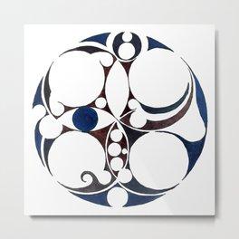 Celtic Circle V Metal Print