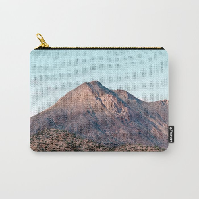 the mountain layer Carry-All Pouch