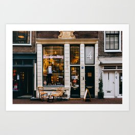 Centrum - Amsterdam, The Netherlands - #2 Art Print