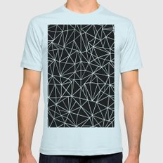 About Black Mens Fitted Tee Light Blue SMALL