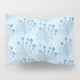 Blue Garden Foliage (light) Pillow Sham