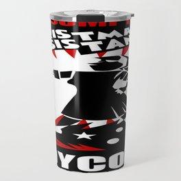 Christmas Resistance  Travel Mug