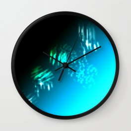 Aurora Drip Wall Clock