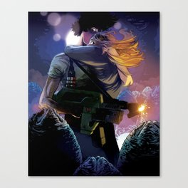 Ellen Ripley, Last Survivor of the Nostromo Canvas Print