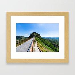 Civita di Bagnoregio - Italy Framed Art Print