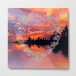 Evening Surprise Metal Print