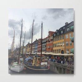 Nyhavn Metal Print