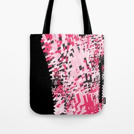 Hashtag pink Tote Bag