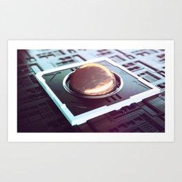 Soft/Ware Art Print