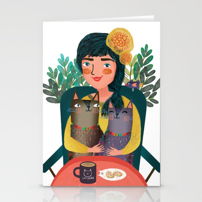 Cat lover Stationery Cards