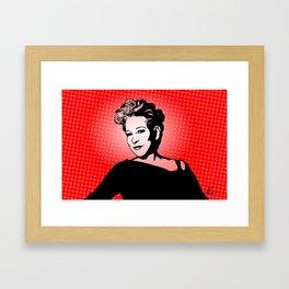 Bette | Pop Art Framed Art Print