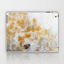 Silver & Gold Laptop & iPad Skin