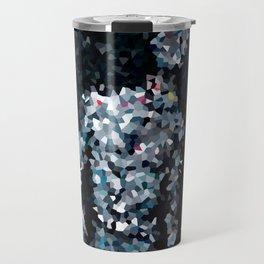 Geometric Valkyrie Walküre Zen Color Abstract Shapes  Travel Mug