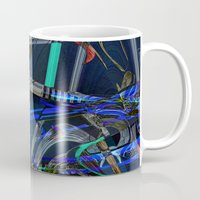 sneakers Mugs featuring Sneakers by Aimee St Hill