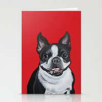 coco Stationery Cards featuring Coco by Pawblo Picasso