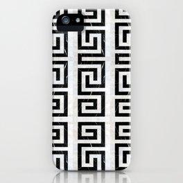 Marble Geometric iPhone Case