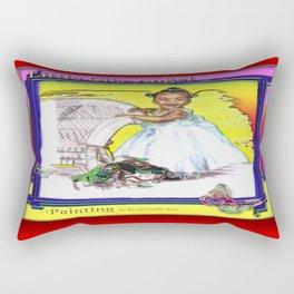 LITTLE CITY ANGEL Rectangular Pillow