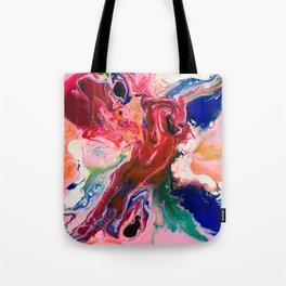 Flame Dragon Tote Bag