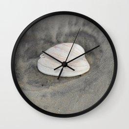 Clam Shell Wall Clock