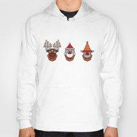 reindeer Hoodies featuring Reindeer by Murat Sünger