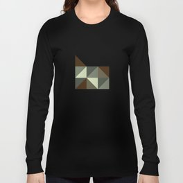 Geometric Oregon Long Sleeve T-shirt