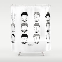Doctor Who: The Doctors Shower Curtain