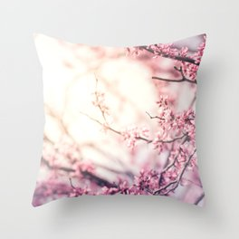 Flower Sunrise Throw Pillow
