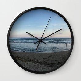 Kamakura Beach Wall Clock