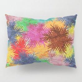 Tropical Fan Palm Paradise – Colorful #05 Pillow Sham