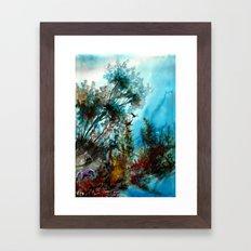 Vergangenheit Framed Art Print