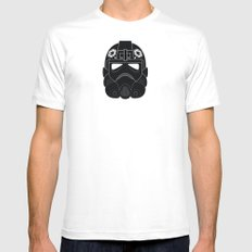 Imperial Pilot MEDIUM White Mens Fitted Tee