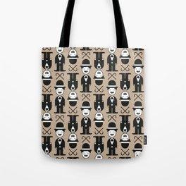 Charlie Chaplin Pattern Tote Bag