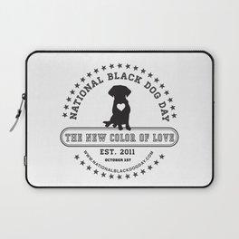 Black Dog Day Official Logo Laptop Sleeve