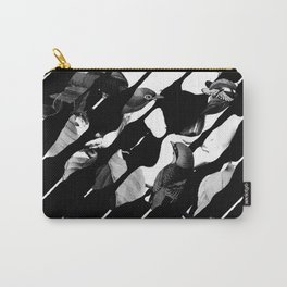Memory Skull BW Carry-All Pouch