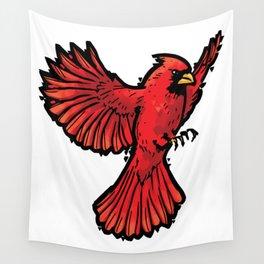 Cardinal Wall Tapestry
