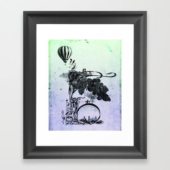 paradiso Framed Art Print