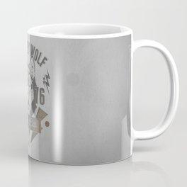 Old Grey Wolf Running Club Coffee Mug
