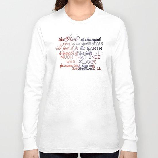 Remember it. Long Sleeve T-shirt