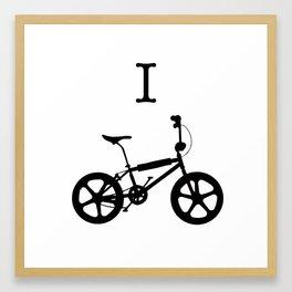 I-BMX Framed Art Print