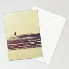 Sunset Surfers Stationery Cards