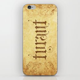"TYRANT ""Aged"" iPhone Skin"