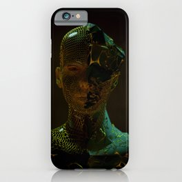 Abstract Portrait IV iPhone Case