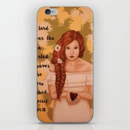 Brokenhearted iPhone Skin
