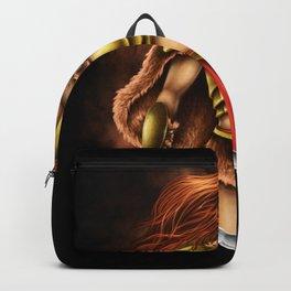 halloween warrior queen Backpack