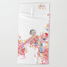 The perfect combination Beach Towel