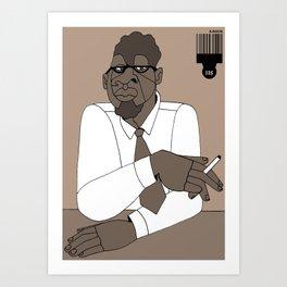 1001 Black Men--#125 Art Print