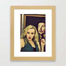 quelle suprise Framed Art Print